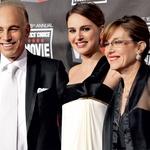 Natalie Portman s starši. (foto: Story)