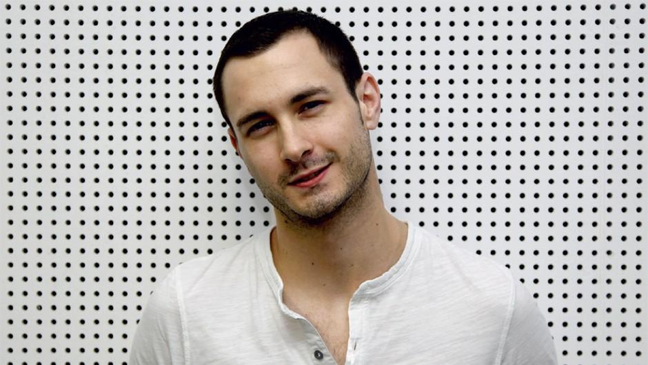 Gregor Bolčina: Njegovih nekaj top tri (foto: Cosmopolitan marec 2011)