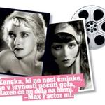 Max Factor je kreiral videze mnogo igralk, ki so jih posnemale vse ženske v tistem obdobju: oči Bette Davis, srčkasto oblikovane ustnice Clare Bow … (foto: promocijski)