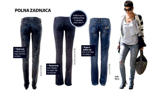Moja mala moda: Izberi najljubše kavbojke (foto: Aleksander Štokelj, profimedia.si)