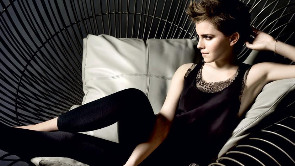 Emma Watson: Ambasadorka dišave Lancome (foto: Mario Testino za Lancome, avtorske pravice: Tom Munro for Lancôme@2011)