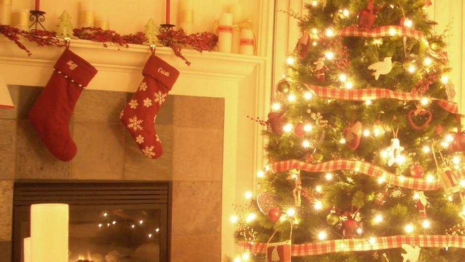Božične okraske lahko izdelaš tudi sama (foto: shutterstock)