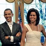 Voščena zakonca Barack in Michelle Obama. (foto: profimedia.si)