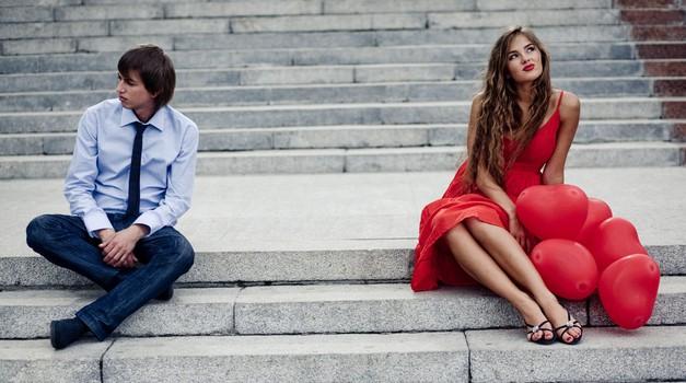 Zlomljeno srce: Neprijetni učinki, ko gresta narazen. (foto: Shutterstock)