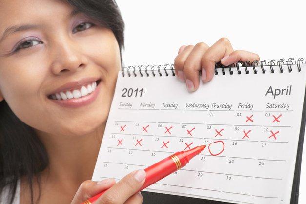 Menstrualni koledarček (foto: Shutterstock)