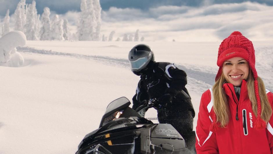 Nagradna igra: Snežni safari z motornimi sanmi (foto: promocija)