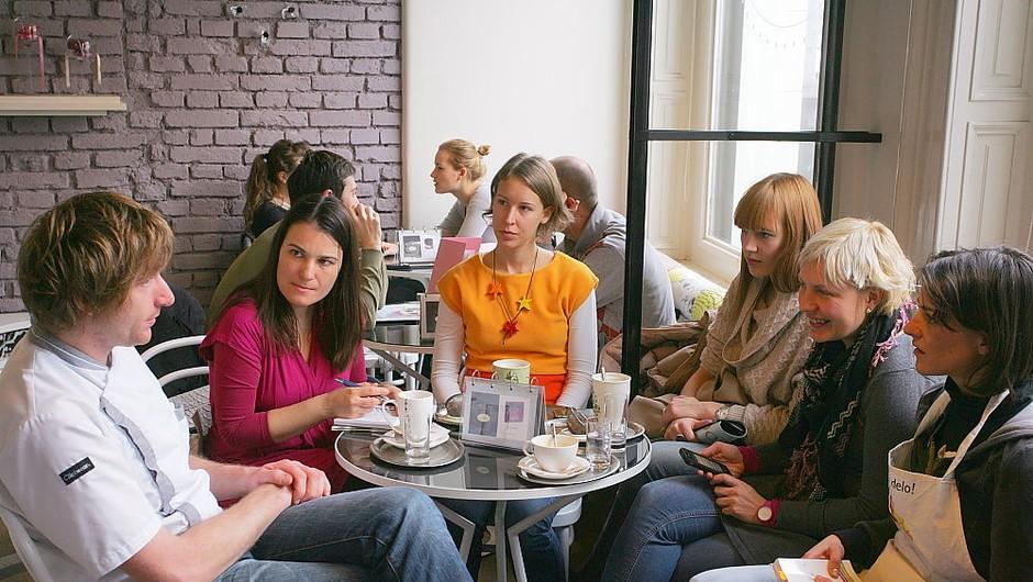 Cosmo slaščičarska akademija v Loliti (foto: Aleš Pavletič)