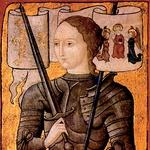 Ivana Orleanska, okrog 1485. Edini znani za življenja napravljeni portret se ni ohranil, zato vse njene upodobitve temeljijo na umetnikovi predstavi. (Centre Historique des Archives Nationales, Pariz, AE II 2490). Vir Wikipedia (foto: Lisa arhiv)