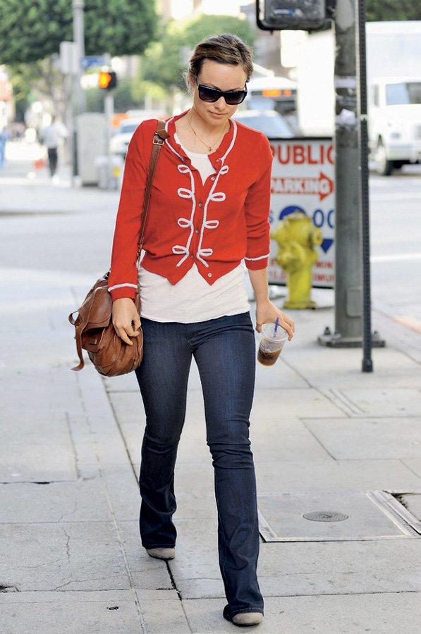 Olivie Wilde - zgled modne sproščenosti (foto: Lisa arhiv)