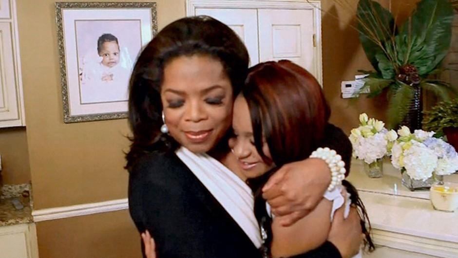 Bobbi Kristina z Oprah o zadnjem dnevu z mamo