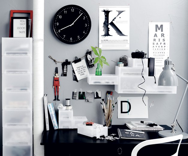 Tvoja lepa in urejena pisarna! (foto: arhiv Lise)