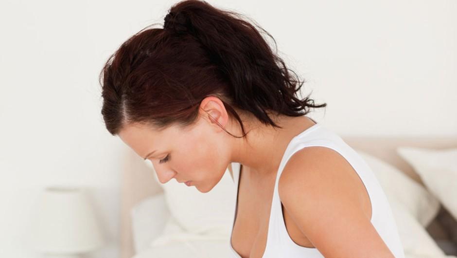 Je tvoj trebušček nenehno napet? (foto: Shutterstock)