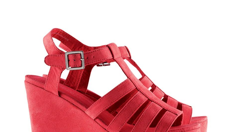 Zaželen modni kos: Čevlji s polno peto!