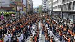 Maturanti slovenskih in evropskih mest združeni v plesu