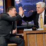 V priljubljenem šovu The Tonight Show with Jay Leno je povedal, da je dislektik. (foto: story Press)