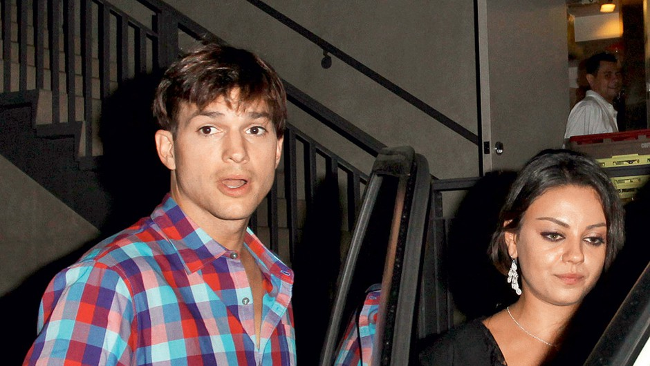 Ashton Kutcher in Mila Kunis