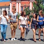 Poletni utrip v Ljubljani ujet v objektivu fotografa (foto: Goran Antely)