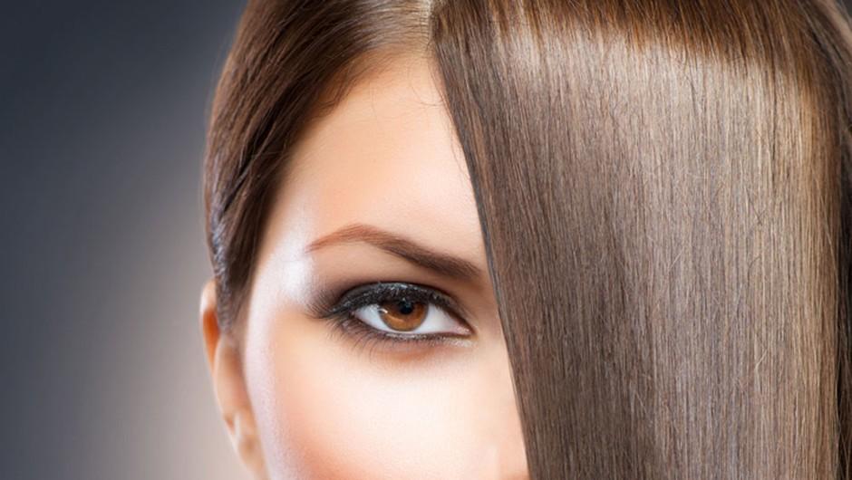 Se rada igraš z likalnikom? Zaščiti svoje lase pred toploto! (foto: Shutterstock)
