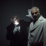 Ples v dežju. Pavle Ravnohrib in Sebastijan Cavazza (foto: promocijsko)