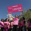 Tina Božič si je na petkah pritekla ček za 1000 evrov