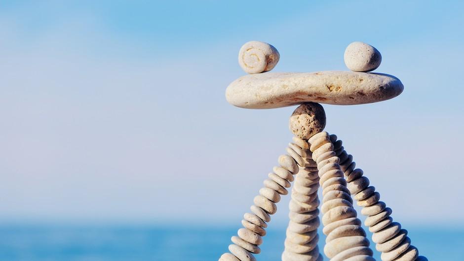 V iskanju notranjega in zunanjega ravnovesja (foto: shutterstock)