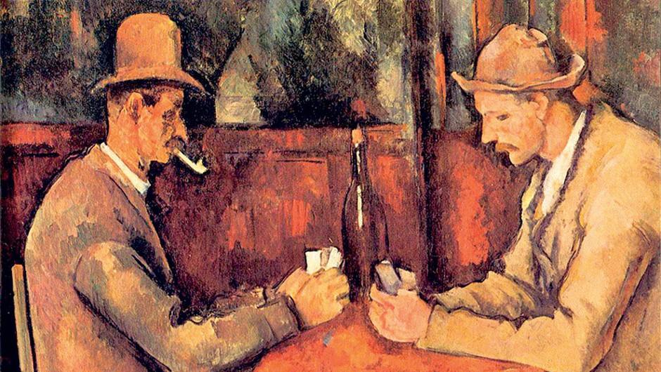 Trenutno najdražja slika: Paul Cézanne, Kvartopirca, 1892/93 (foto: Lisa)