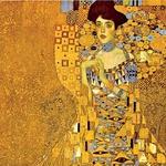 Portret Adele Bloch-Bauer I (1907) 138 cm × 138 cm – Gustav Klimt. Leta 2006 jo je kupil Ronald Lauder za Neue Galerie v New Yorku, in sicer za 105,6 milijona evrov. Avstrijski simbolični slikar, pripadnik dunajske secesije, je po naročilu bogatega industrialca naslikal njegovo ženo. Olje in zlato na platnu je naredil v stilu art nouveau. (foto: Lisa)