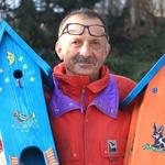 Matej Pivec & njegove ljubke ptičje hišice