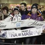 Fotoreportaža iz Maribora: Tina Maze dobila lasten kraljevski srebrnik!