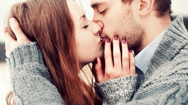 Vse se začne s poljubom! (foto: shutterstock)
