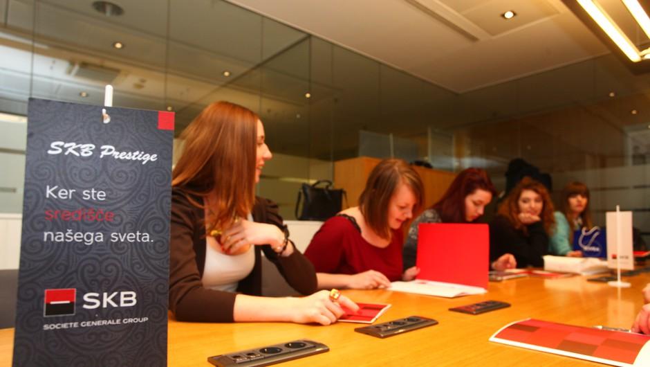 Cosmo novinarke pred prvim SKB izzivom (foto: Aleš Pavletič)