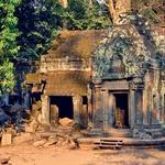 Divji svet Kambodže, ki se v Angkor Watu prepleta z umetelnimi umetniškimi stvaritvami starodavnih civilizacij. (foto: Osebni arhiv)