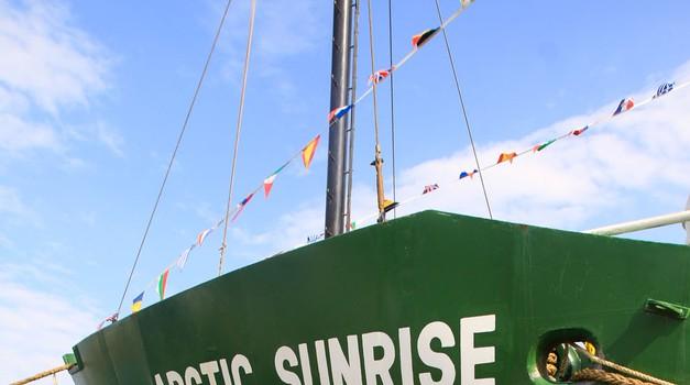 Fotograf na krovu greenpeaceovega ikoničnega ledolomilca