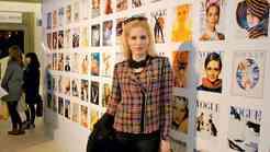 Ajda Sitar na Vogue festivalu v Londonu