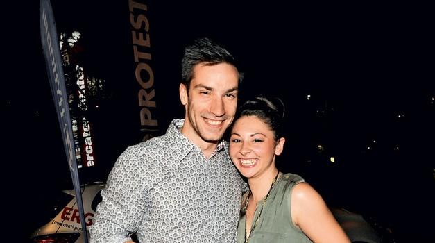 Andrej in Kristina (foto: Sašo Radej)