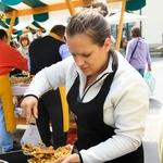Foto utrinki s prve Odprte kuhne na Pogačarjevem trgu (foto: Goran Antley)