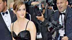 Emma Watson: Modna kontrastna eleganca