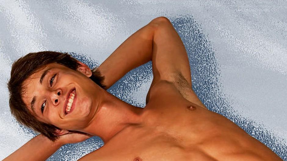 To je obraz zadovoljenega moškega (foto: foter.com)