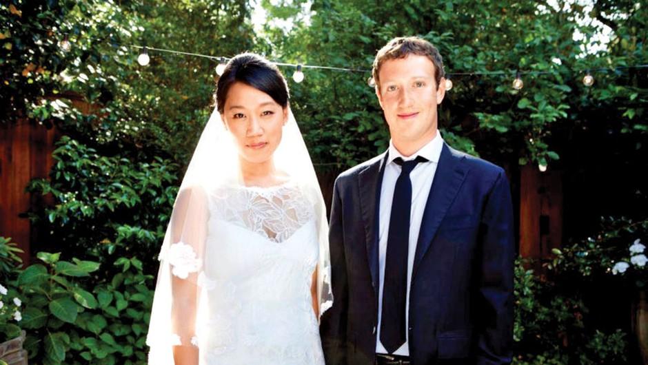 Mark Zuckerberg in Priscilla Chan (foto: Getty Images, Profimedia)
