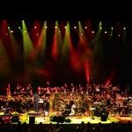Siddharta in simfoniki navdušili občinstvo stadiona (foto: Goran Antley)