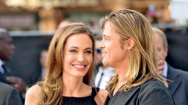 Brad Pitt in Angelina Jolie (foto: Shutterstock)