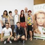 Ekipa izurjenih strokovnjakov za lepotne izdelke Keune. (foto: Primož Predalič, Petra Rozman)