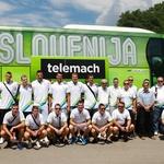 Slovenski košarkaši na pripravah za EuroBasket (foto: Goran Antley)