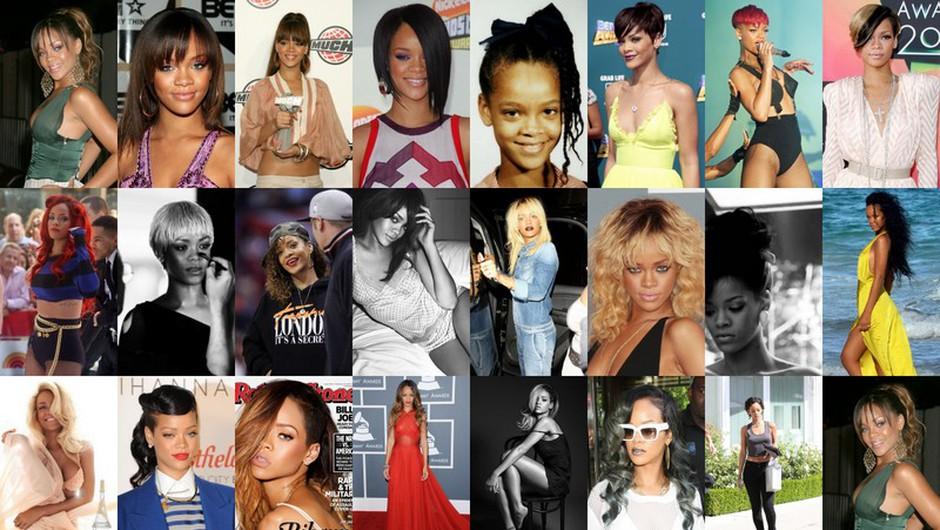 Rihanna - kraljica preobrazbe (foto: Profimedia)