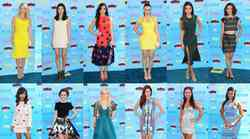 Moda na podelitvi nagrad Teen Choice Awards