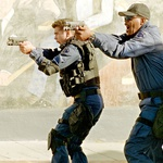 V akcijskem filmu S.w.a.t. - Specialci sta mu družbo delala Colin Farrell in LL Cool J.  (foto: profimedia)