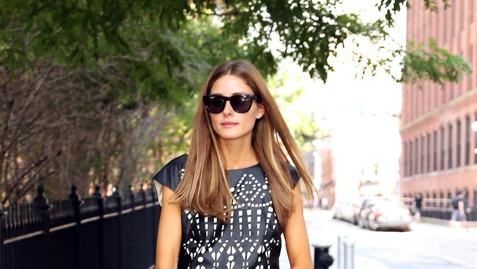 Olivia Palermo na ulicah New Yorka (foto: profimedia)