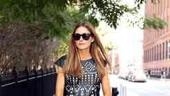 Olivia Palermo na ulicah New Yorka