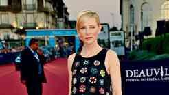 Cate Blanchet: Grafični modni podvig s ščepcem romantike