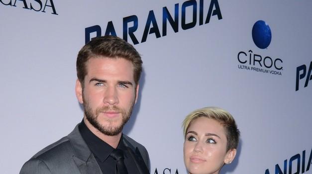 Liam in Miley sta bila skupaj štiri leta. (foto: Profimedia)
